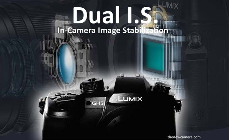 Panasonic GH5 o feature Dual IS