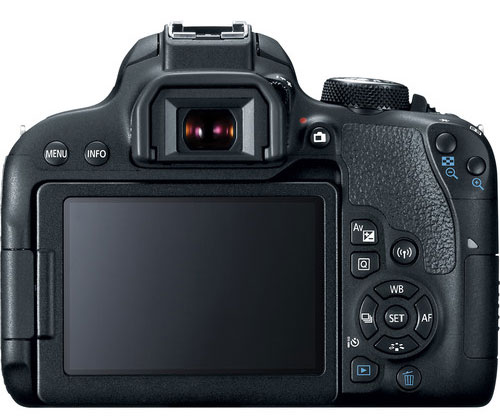 Canon 700D Back