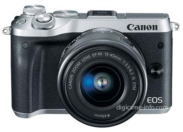 Canon EOS M6 leaked images