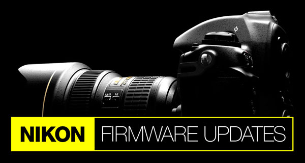 Nikon D3400 and Nikon D5600 - Download Latest Firmware