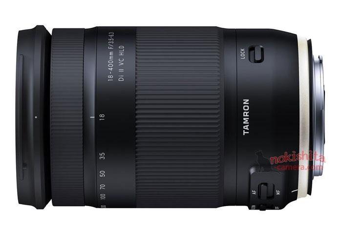 Tamron 18-400mm lens image
