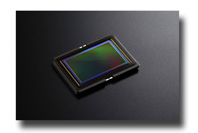Canon sensor image