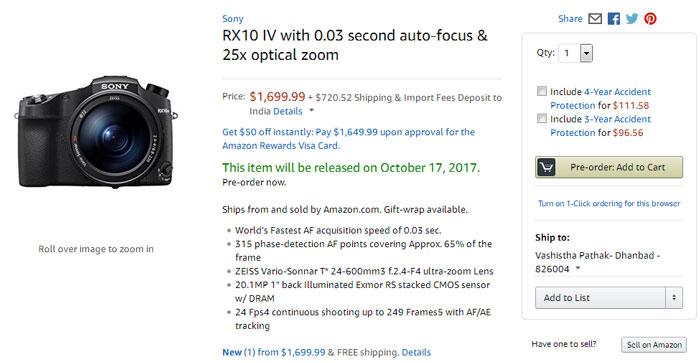 Sony RX10 IV « NEW CAMERA