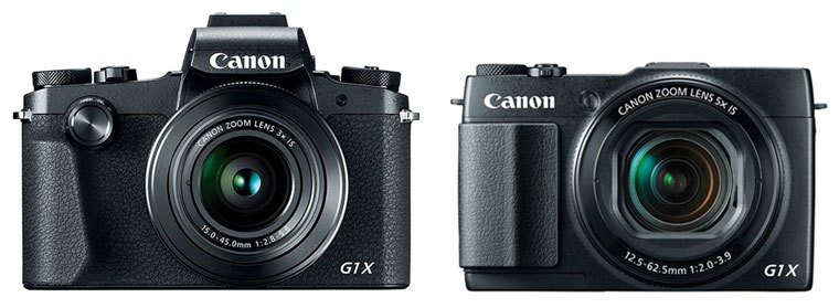 Canon G1X Mark III vs G1X Mark II