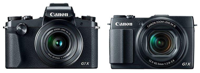 Canon G1X Mark III vs G1X Mark II