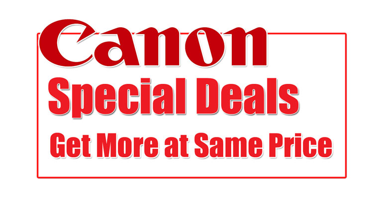 Canon Special Deals Image