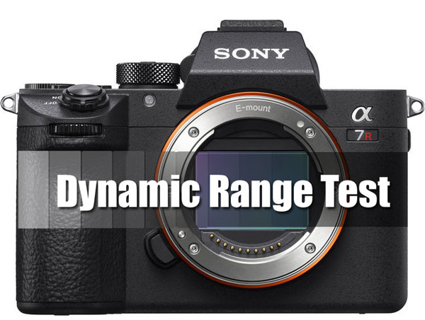 Sony A7R III dyanmic range test image