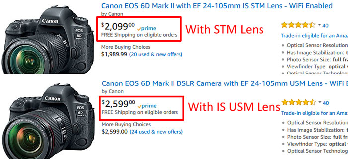 Canon 6D Mark II Price image