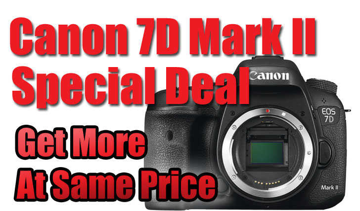 Canon 7D Mark II Deal image