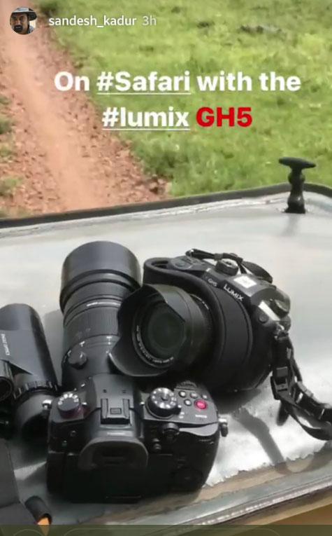 Panasonic GH5s camera image