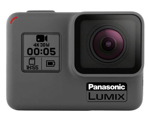 Panasonic Gropro style camera creative image