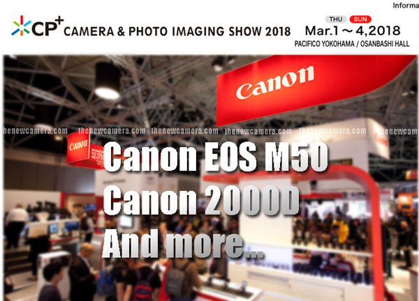 Canon at Cp plus show