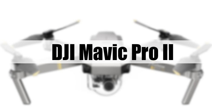 DJI Mavic pro 2 camera