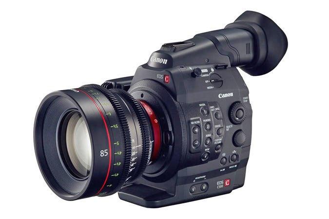 Canon C500 mark II image