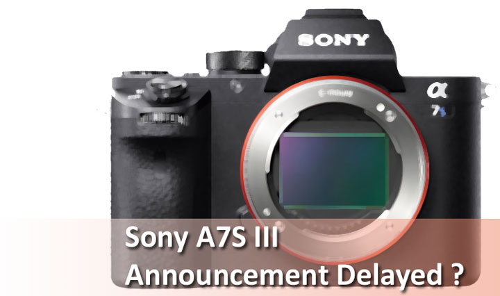Sony A7S III Announcement Delayed ? « NEW CAMERA
