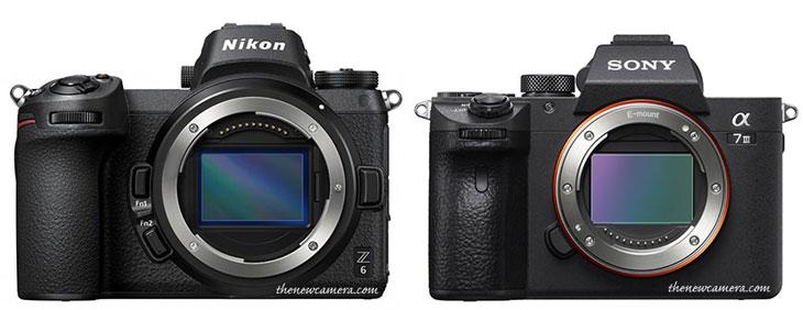 Nikon Z6 vs Sony A7 III « NEW CAMERA