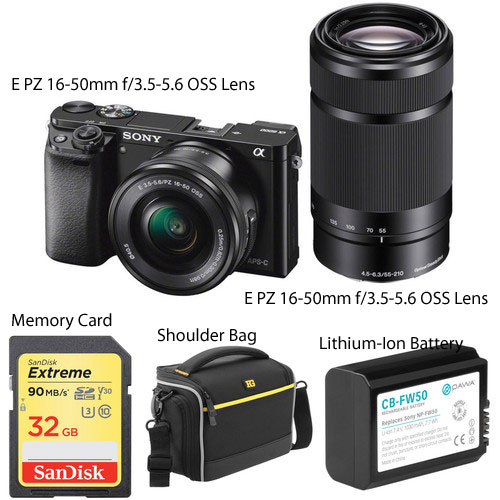 Sony 16-50mm lens