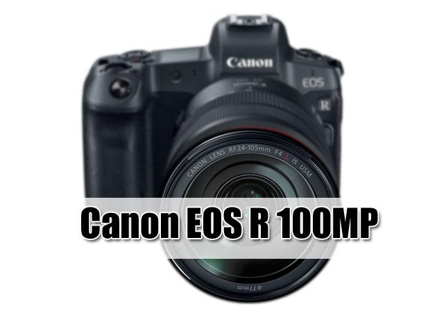 Canon EOS R 100 MP IBIS Also on Canon Road Map « NEW CAMERA