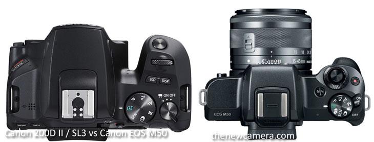 Canon 200D II / SL3 vs Canon EOS M50 « NEW CAMERA