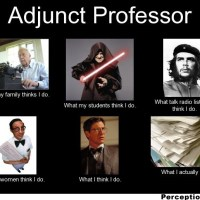 Dreaming and Adjuncting