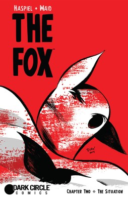 THE FOX #2 Cover by Dean Haspiel