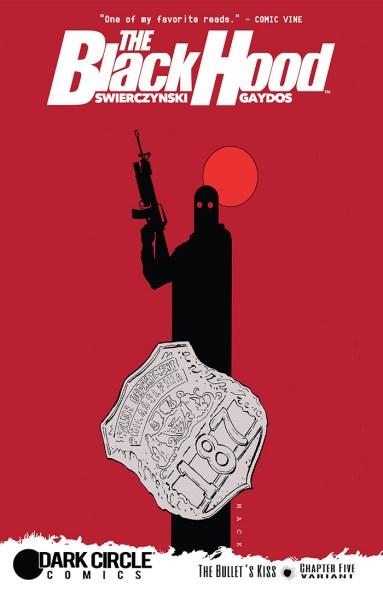 BLACK HOOD #5 Variant Cover by David Mack