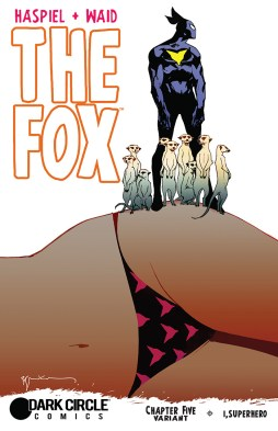 THE FOX #5 Variant Cover by Bill Sienkiewicz