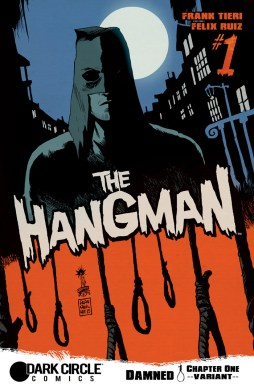 THE HANGMAN #1 Variant Cover by Francesco Francavilla