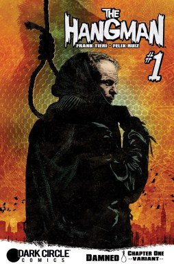 THE HANGMAN #1 Variant Cover by Tim Bradstreet