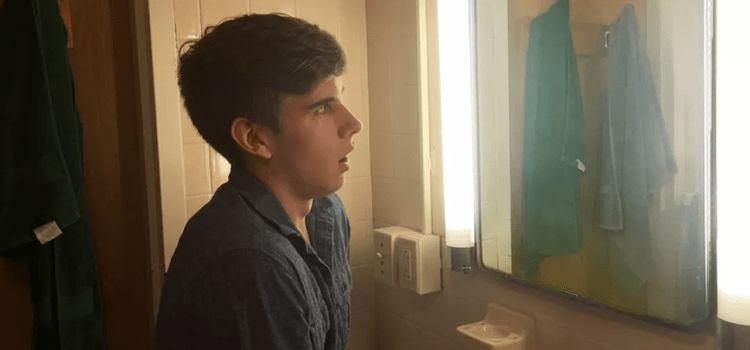 Spooky! Student Refuses To Buy Into Jesuit Traditions, Has No Reflection