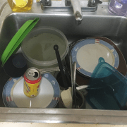 Dishes Slowly Gathering In Sink Eager To Destroy Peaceful 8-Man