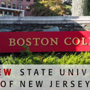 Boston College Officially Named State School Of New Jersey