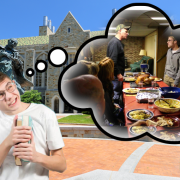 "Student Body Flips On Thanksgiving Poll: ""We No Longer Ever Wish To Go Home"""