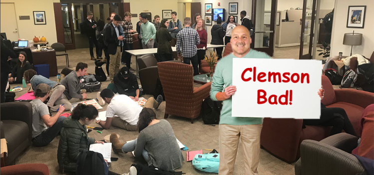 Addazio Misses Full Week Of Practice After Dedicating Entire Schedule To Making College GameDay Sign