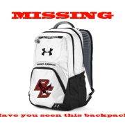Athlete Loses Backpack in Snow, Again