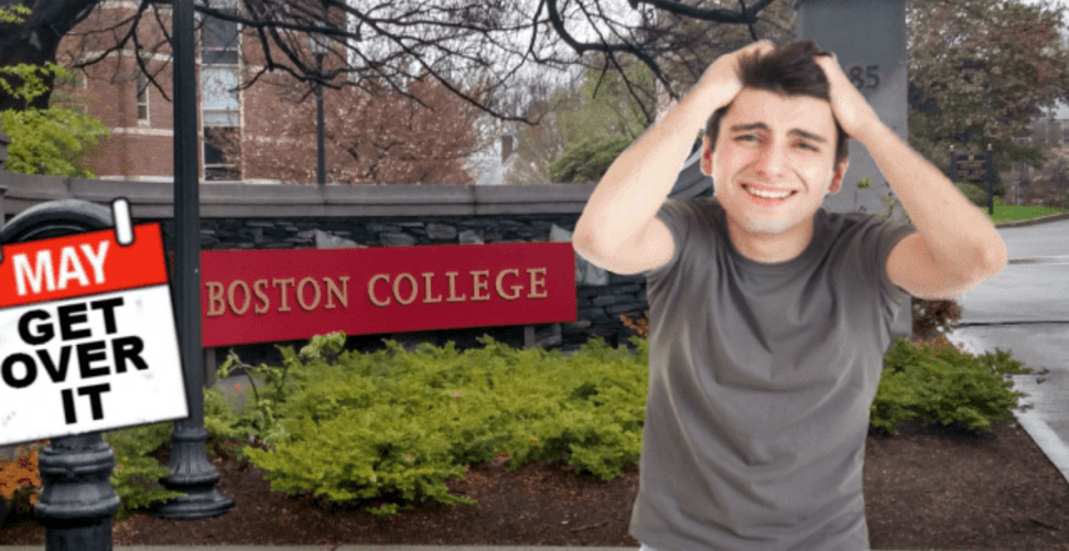 Insufferable Freshman Still Complaining About Living On Newton
