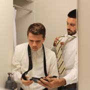 """Eduroam Flooded With """"How to tie a tie"""" Before Career Fair"""