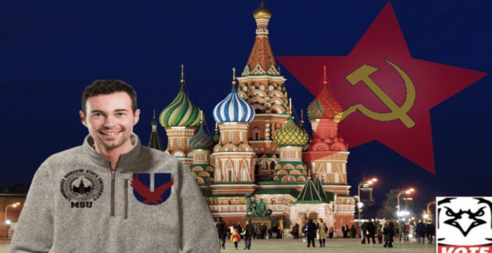 UGBC Presidential Candidate Found To Have Dangerously Close Ties To Student Government Of Moscow State University