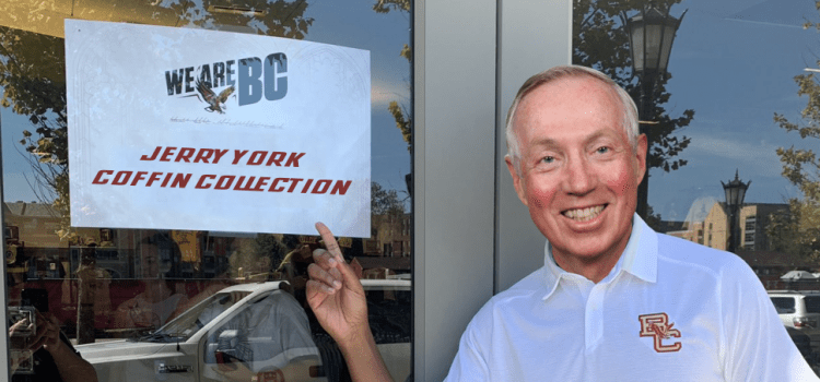 BC Bookstore Announces Jerry York Coffin Collection