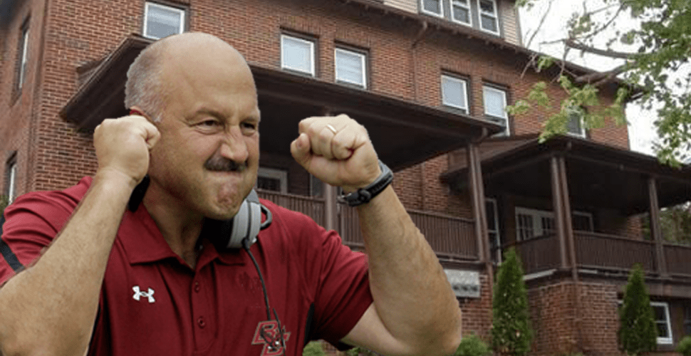Addazio's Off-Campus Housing Lease Does Not Begin Until September 1, Will Miss Season Opener