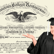 College Graduate Doesn't Even Know Enough Latin To Read Her Diploma
