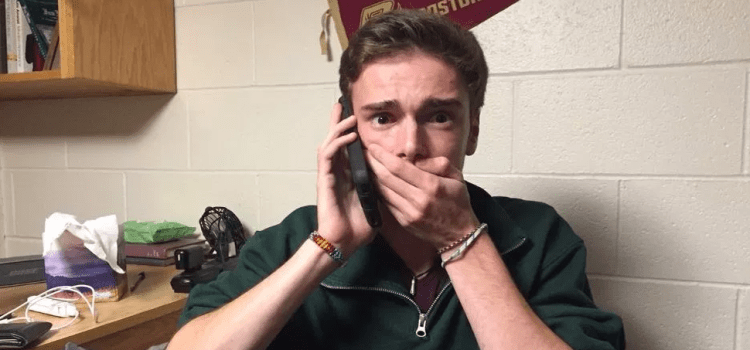 "Embarrassing: This Freshman Said ""Have A Good Day Professor"" To His Mom"
