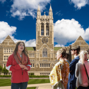 Tour Guide Claims Gasson Tallest Building On East Coast