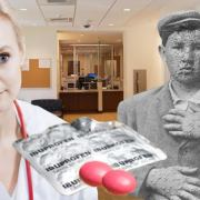 Health Services Cures Smallpox Using Only Goody Bag Of Ibuprofen