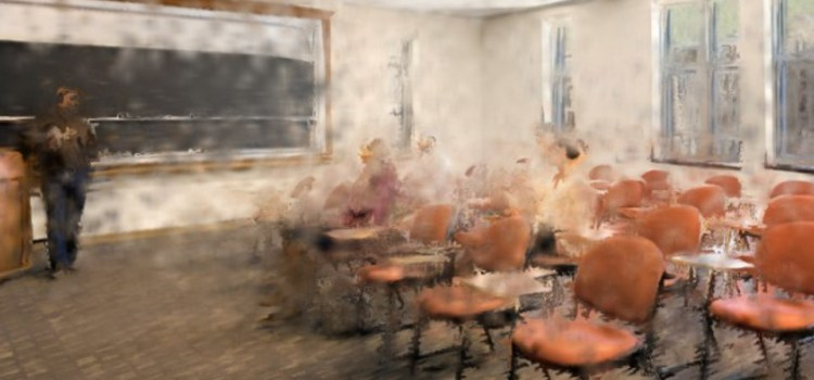 Student Sits In Different Seat Third Week Of Class, Disrupts Space-Time Continuum