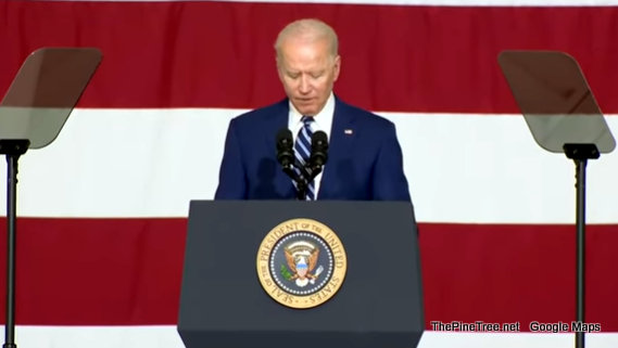 President Biden Addressing Service Members and their Families