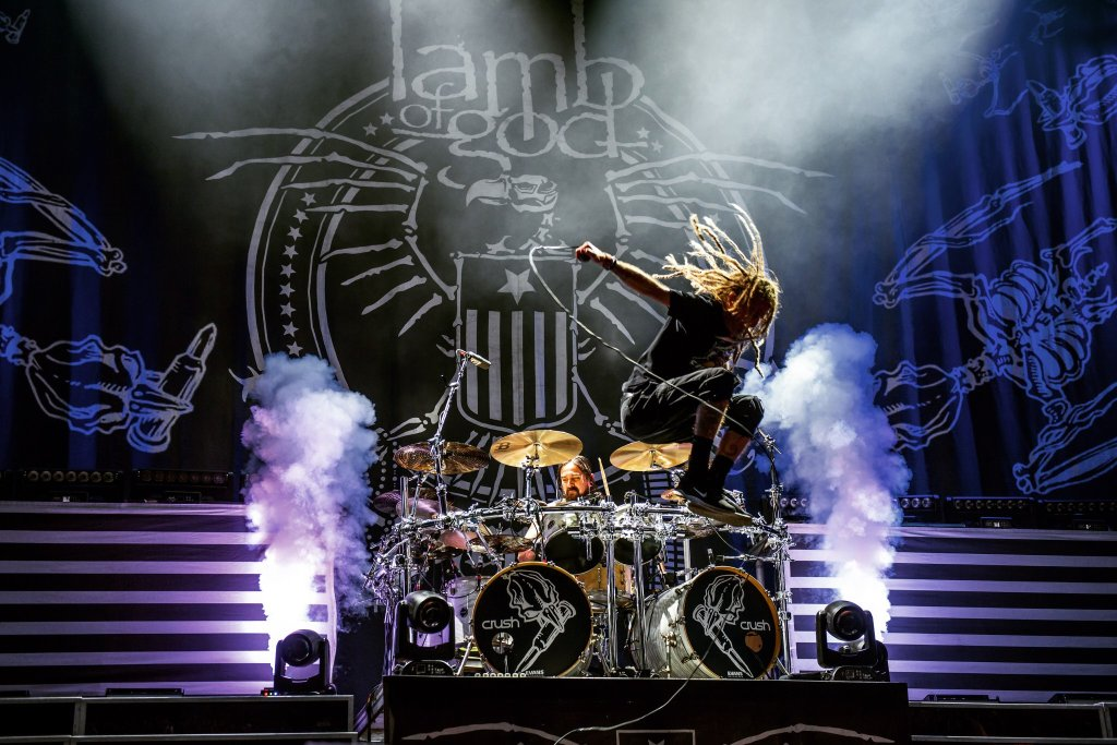 Lamb Of God. Photo Credit: Shots from the Dark