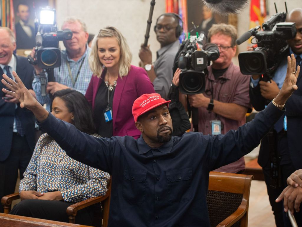 ROAD TO NOVEMBER: Kanye West Presidente? It's an old story