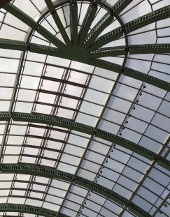 The ceiling in Mall of the Emirates.