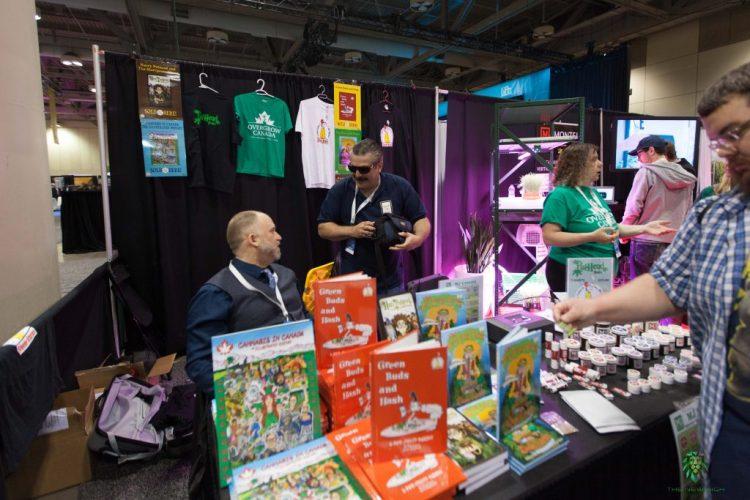Cannabis Books Lift Expo